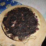 Фото 01. Домашний песочно-творожный пирог с ягодами, творогом и шоколадом.