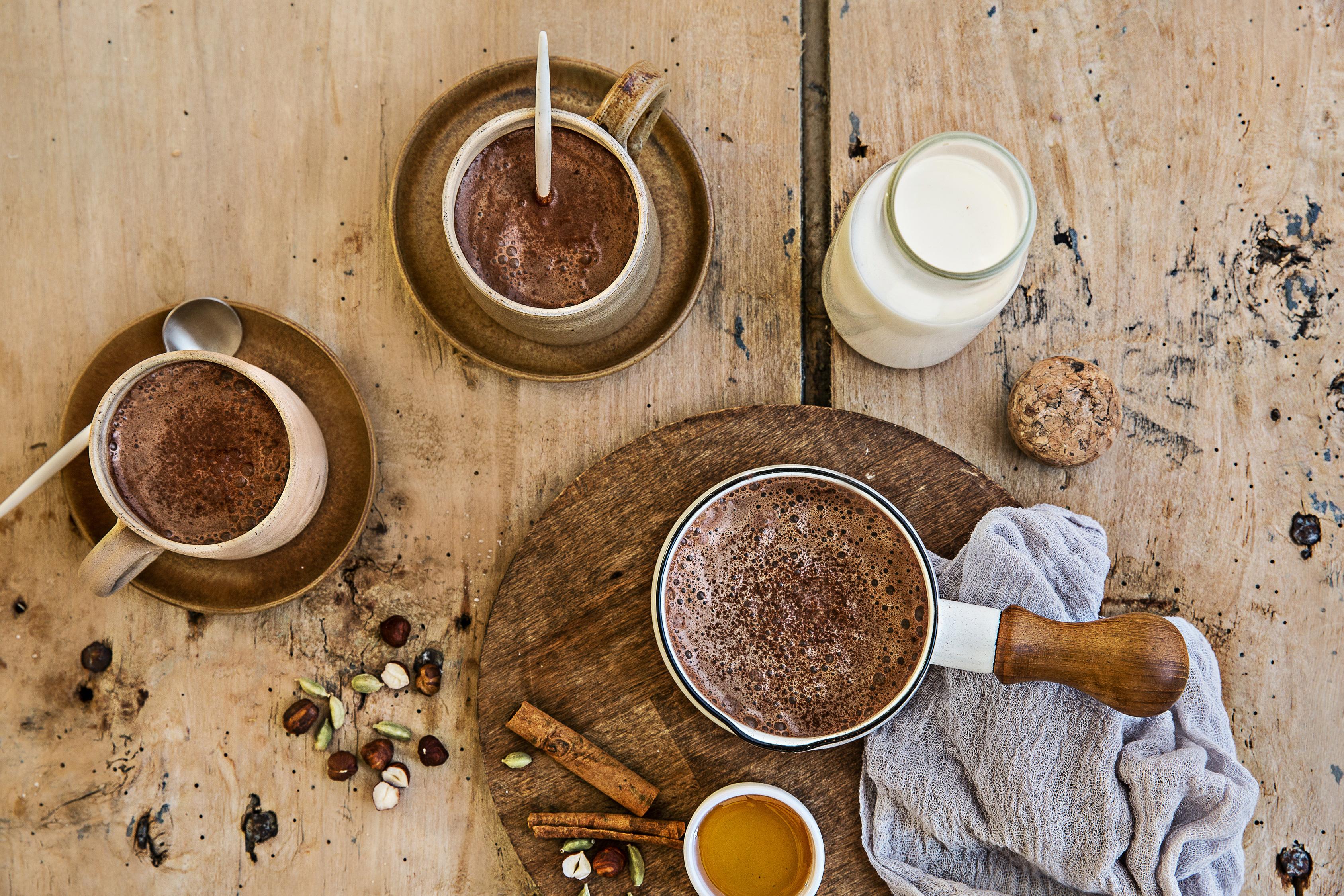 Фото prigotovlenie goryachego shokolada 3.