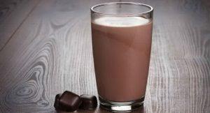 Фото 2. Шоколадное молоко.