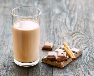 Фото 1. Шоколадное молоко.