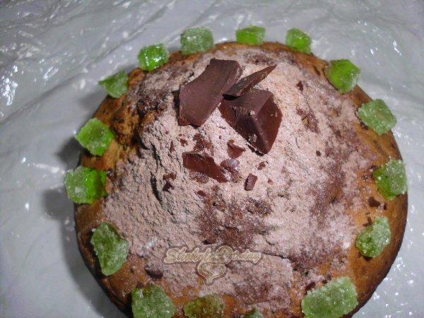 Фото tvorojniy keks s shokoladom 6.