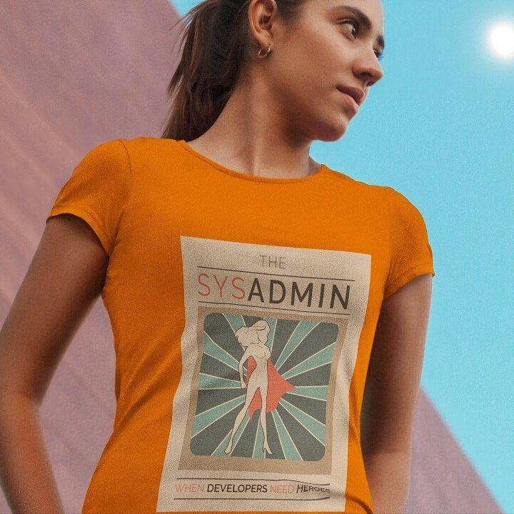 Фото 4. День системного администратора. Девушка сисадмин.