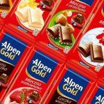 Шоколад Alpen Gold подойдет даже самому избирательному сладкоежке благодаря широкому выбору начинок.
