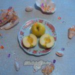 Фото 2. Яблоки в шоколаде. Пошагово.