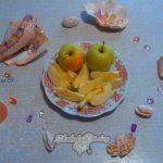 Фото 6. Яблоки в шоколаде. Пошагово.