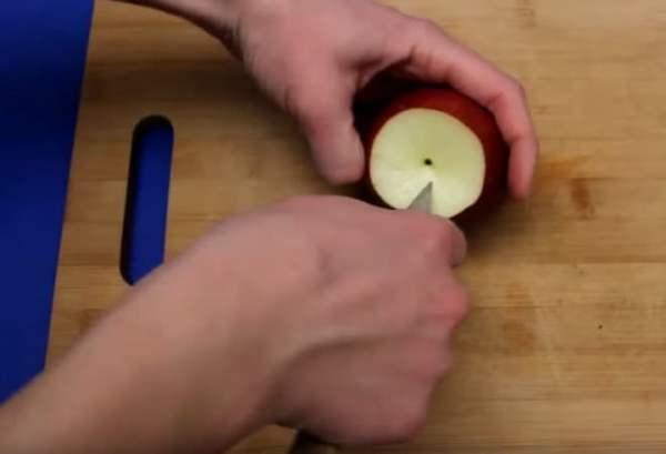 Фото запечь яблоки в микроволновке в виде пирога18.