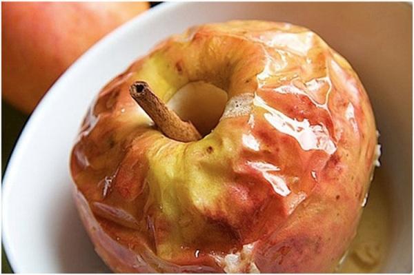 Фото запечь яблоки в микроволновке в виде пирога19.
