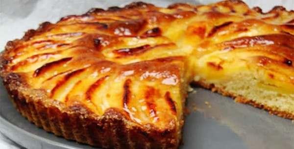 Фото запечь яблоки в микроволновке в виде пирога22.