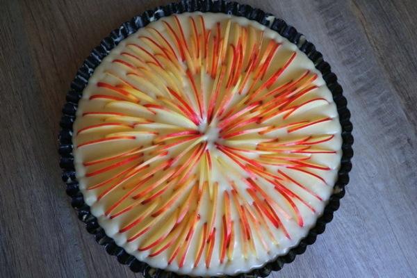 Фото запечь яблоки в микроволновке в виде пирога23.