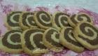 Фото 10. Песочное двухцветное печенье с какао и лимонной цедрой «Завитушка».