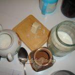 Фото 19. Ингредиенты для шоколадной глазури.