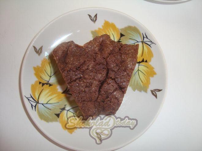 Фото 22. Шоколадный Брауни с мороженым.