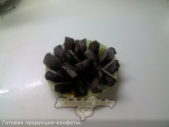 Фото 3. Шоколадные конфеты своими руками.