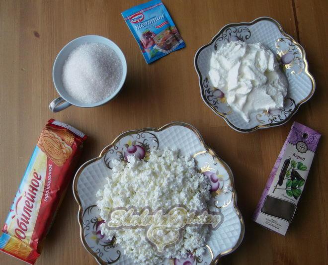 Фото Ингредиенты творожный десерт «сказочные узоры» 01.