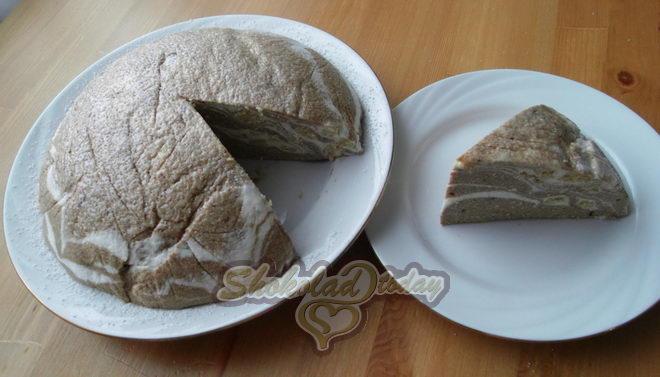 Фото творожный десерт «сказочные узоры» 09.