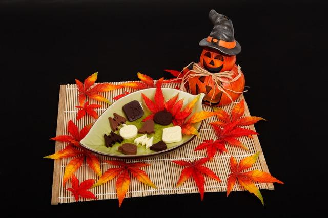 Фото шоколад и хэллоуин.