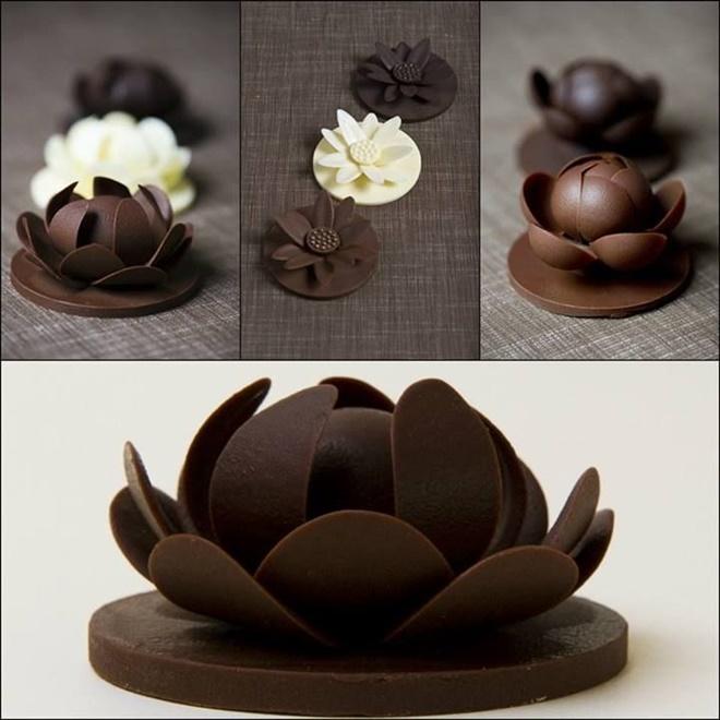 Фото shokoladnye lotosy.