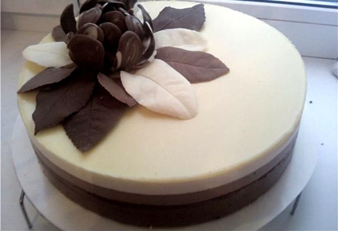 Шоколадная мастика из белогошоколада где продается мастика для тортов в уфе
