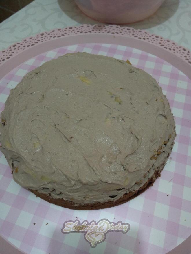 Фото торт с шоколадной мастикой 13.