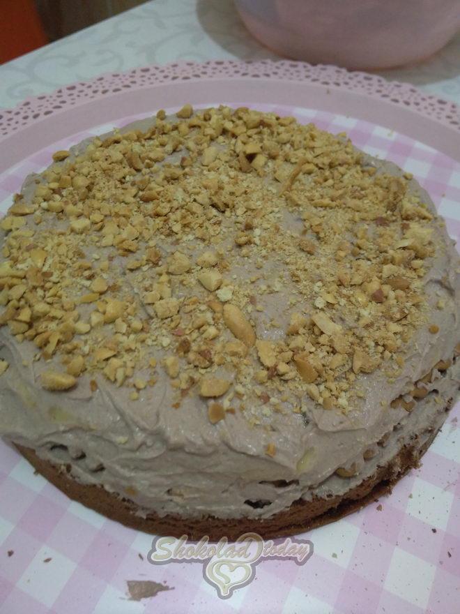 Фото торт с шоколадной мастикой 14.