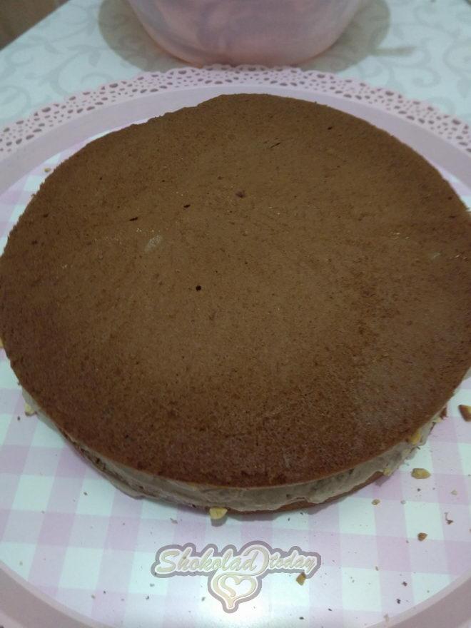 Фото торт с шоколадной мастикой 15.