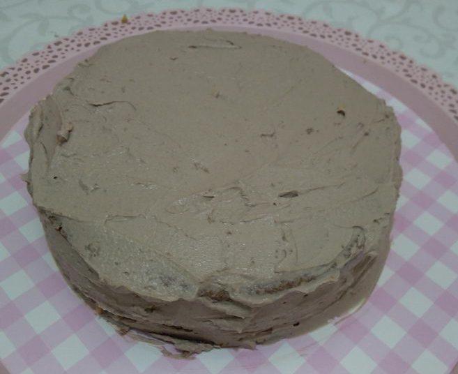 Фото торт с шоколадной мастикой 16.