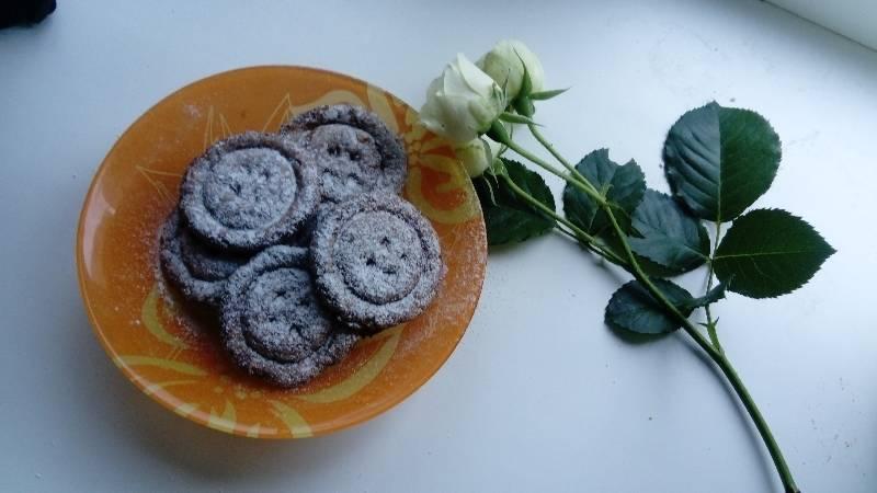 Фото печенье  съедобные пуговки  06.