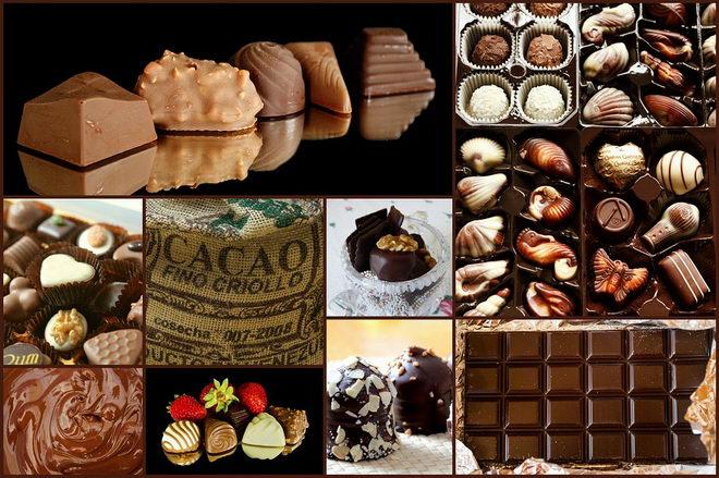 Фото шоколадное золото 01.