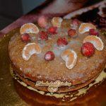 Миниатюра к статье Простой торт в мультиварке