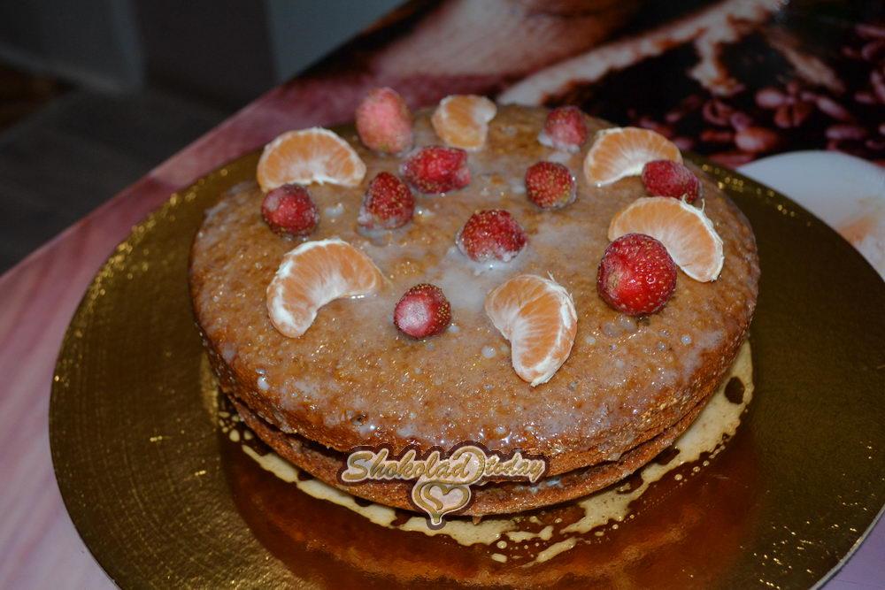 Фото быстрый торт в мультиварке 18.
