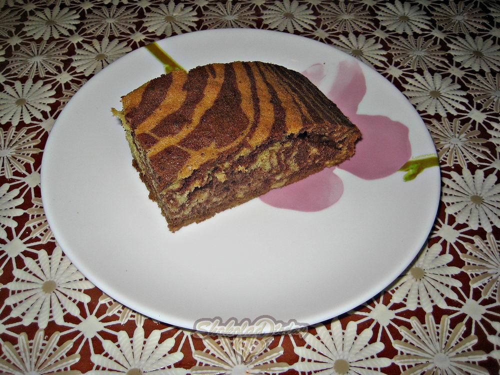 Фото пирог зебра 15.