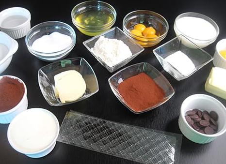 Фото ingredienty dlya shokoladnogo pudinga 1.