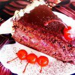 Фото bozhestvennyj tort pyanaya vishnya v shokolade neveroyatnoe naslazhdenie  nashakuhnia ru.