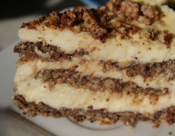 Фото orexoviy tort s limonnim kremom 04.