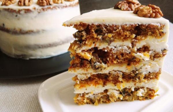 Фото orexoviy tort s limonnim kremom 10.