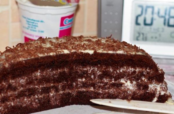 Фото shokoladniy tort na kipyatke 2.