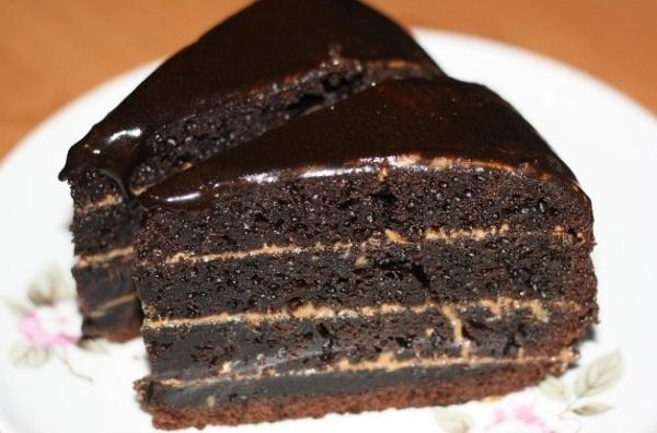 Фото shokoladniy tort na kipyatke 4.