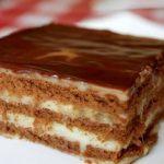 Фото Шоколадно банановый торт без выпечки.