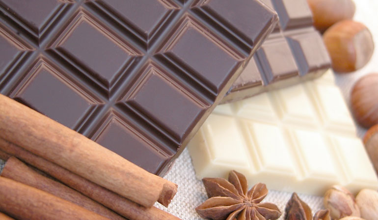 vidy shokolada