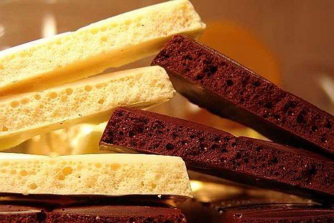poristyj shokolad