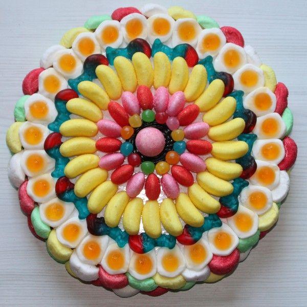 Фото tort ukrashennyj konfetami i shokoladkami 63.