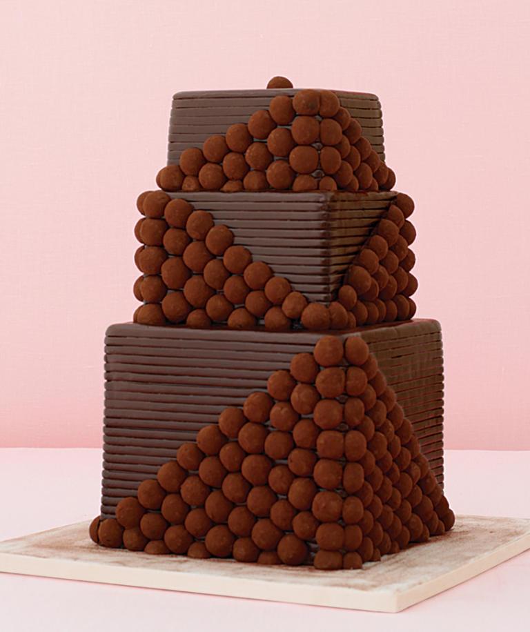 Фото ukrashenie torta konfetami 2.