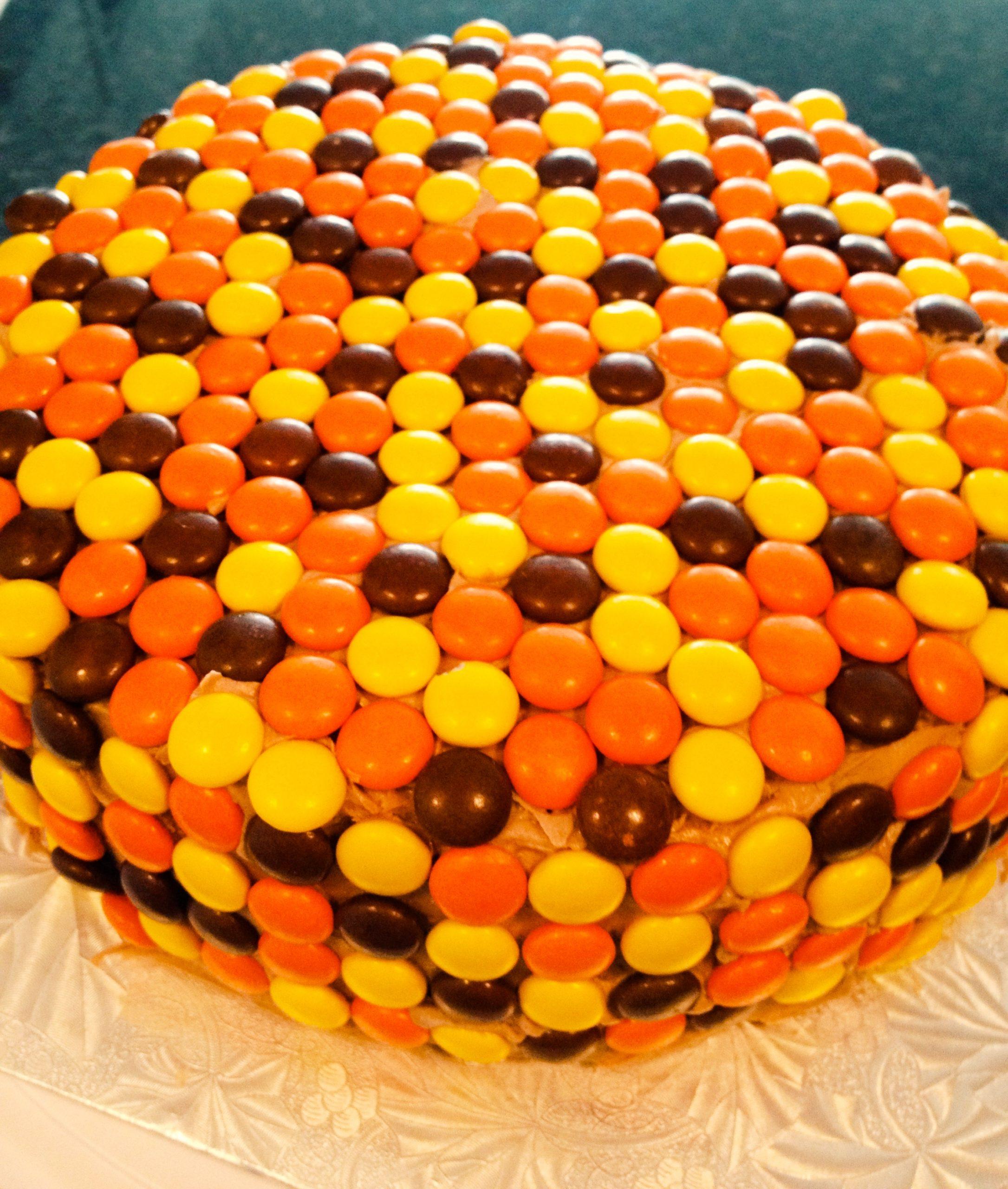 Фото ukrashenie torta konfetami 20.