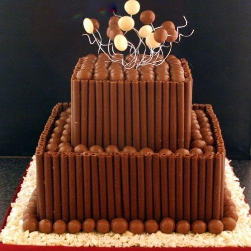 Фото ukrashenie torta konfetami 25.