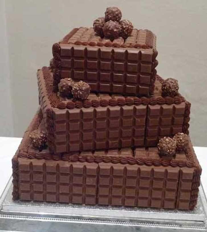 Фото ukrashenie torta konfetami 26.