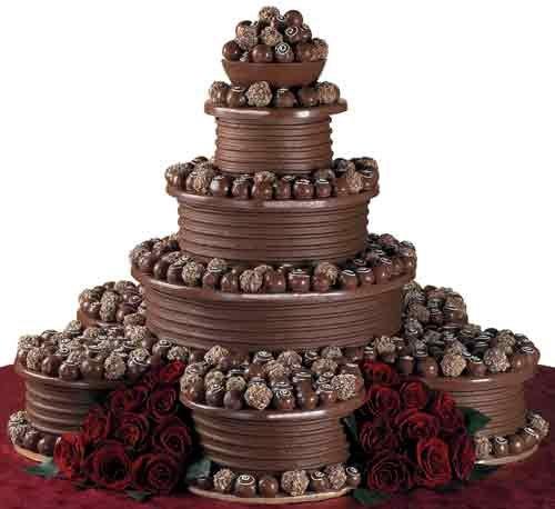 Фото ukrashenie torta konfetami 3.