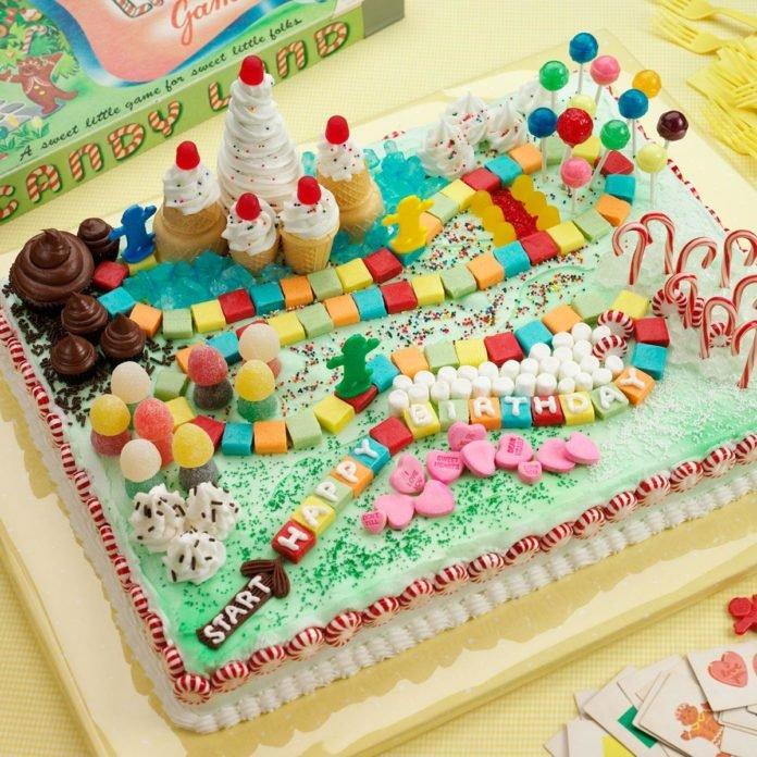 Фото ukrasheniya torta iz konfet i shokolada 10.