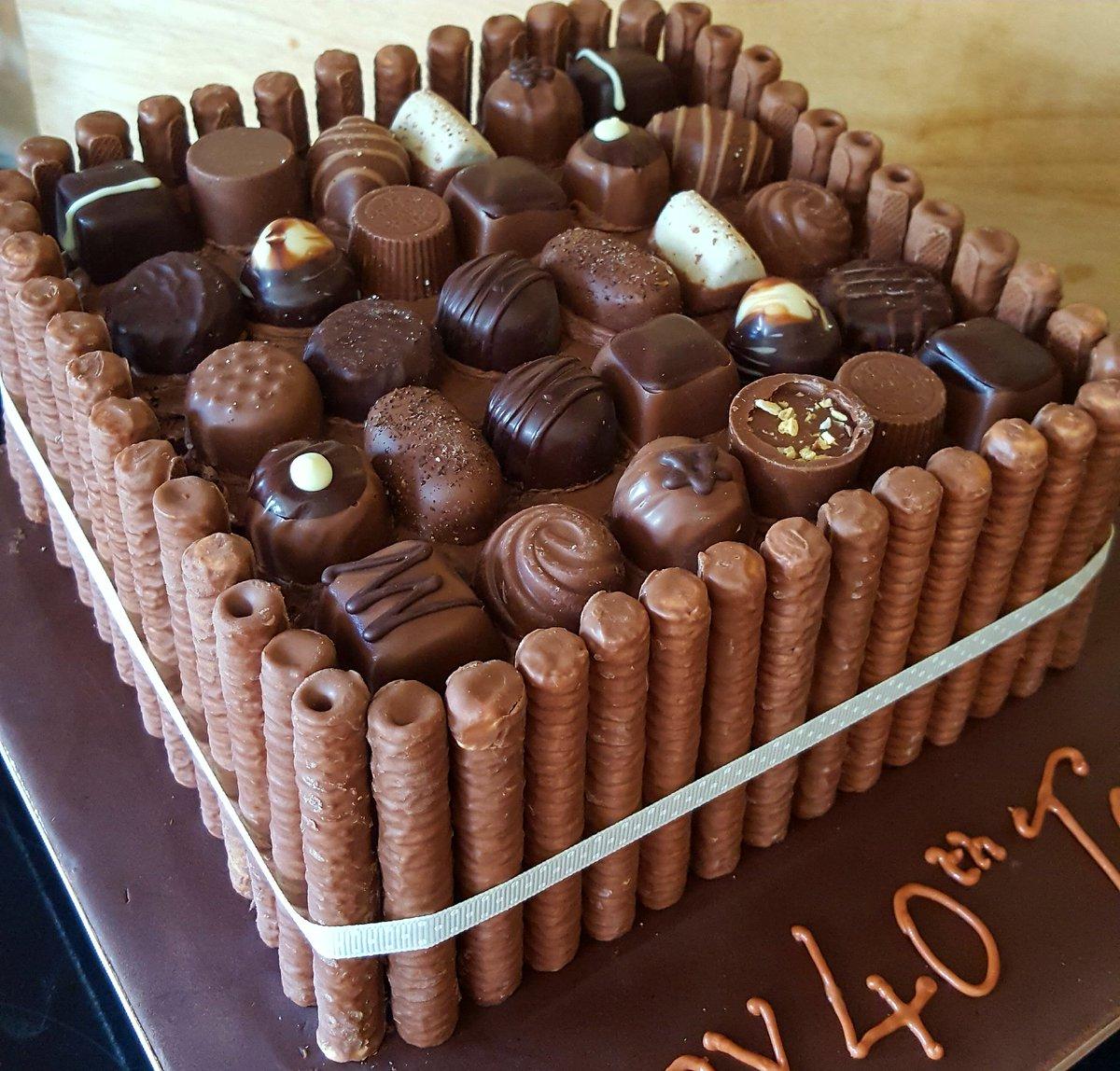Фото ukrasheniya torta iz konfet i shokolada 42.