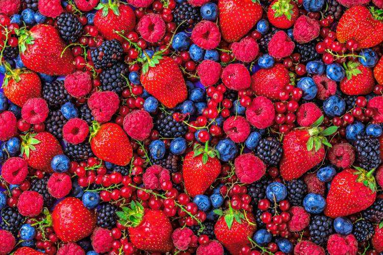 Фото frukty dlya ukrasheniya torta 1.