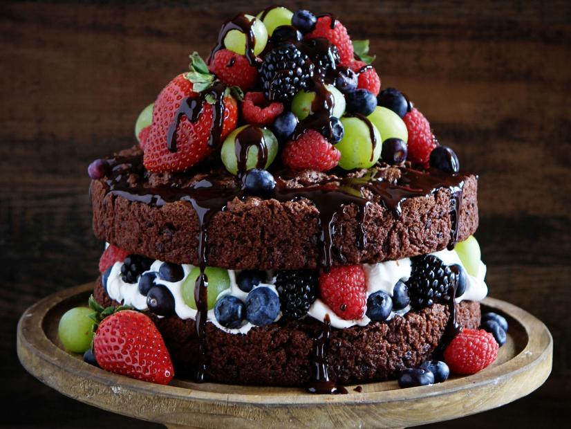 Фото tort ukrashennyj fruktami 15.